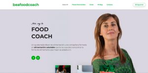 Diseño de página web para aserora nutricional