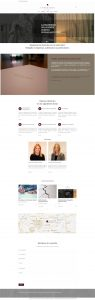 diseño página web para despacho abogados